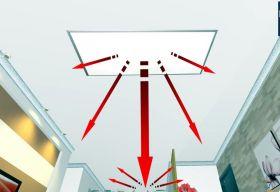 chauffage plafond rayonnant infralia. Black Bedroom Furniture Sets. Home Design Ideas