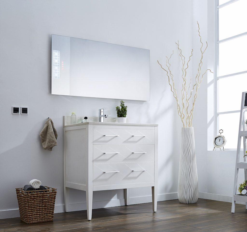neon salle de bain avec trendy couleur peinture qui attire la lumiere salle de bain taupe et. Black Bedroom Furniture Sets. Home Design Ideas