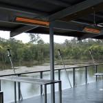 Alfresco chauffage de terrasse infrarouge