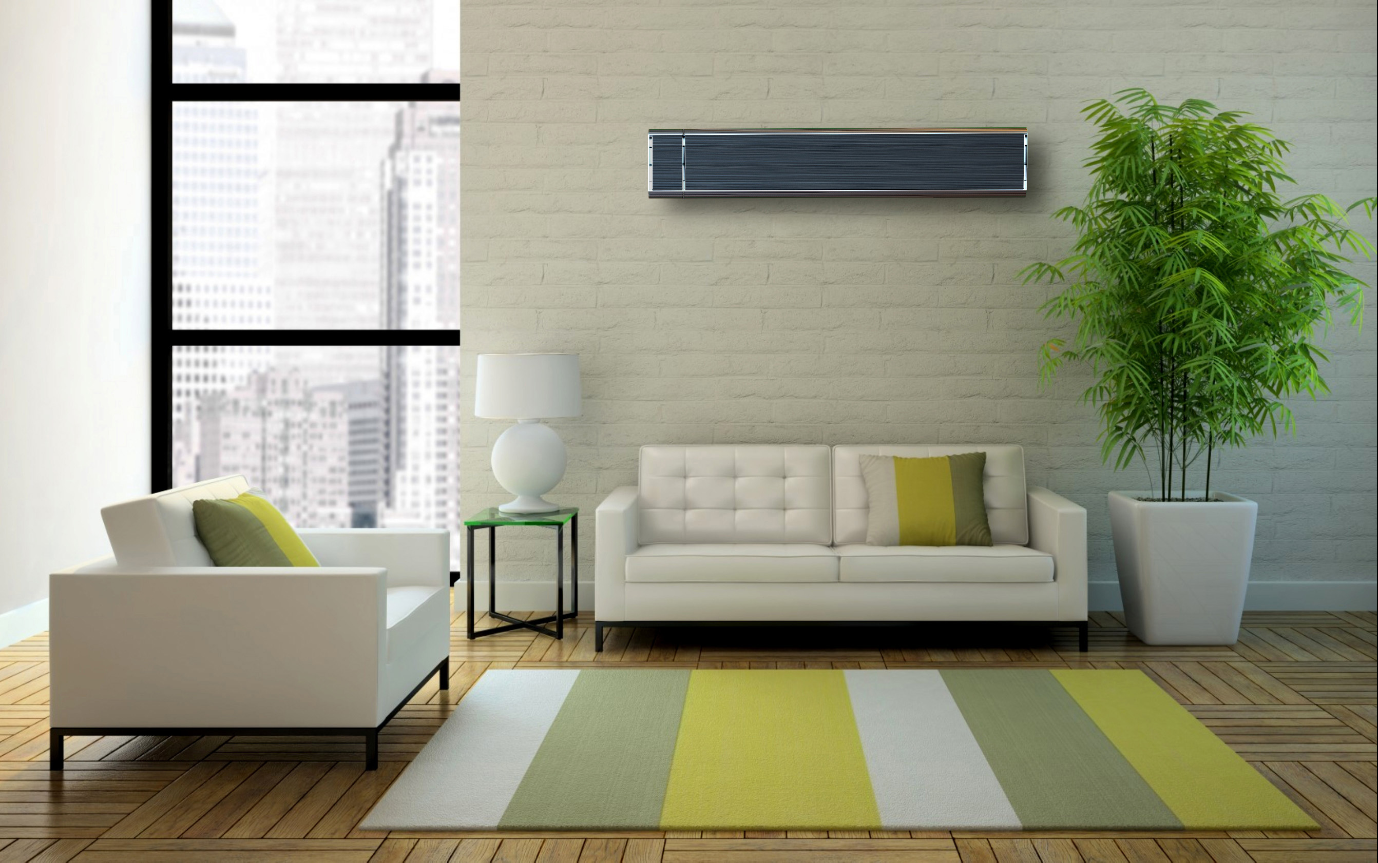 Infrared Heating Living Room | Infralia IR-Panels