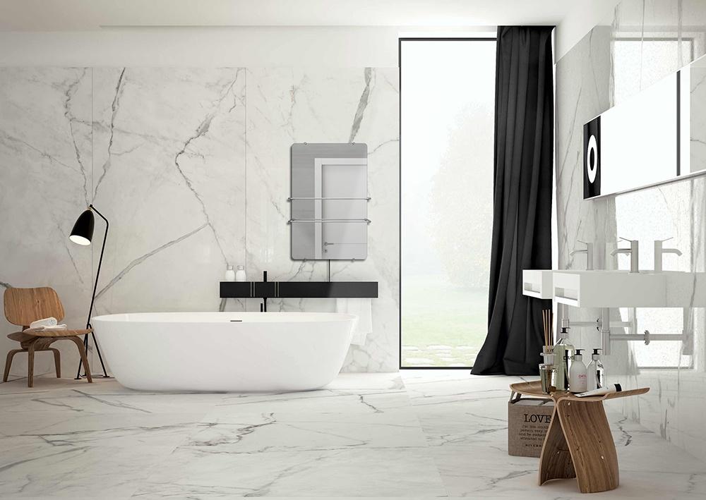 Bijverwarming badkamer