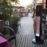helios at outdoor bar