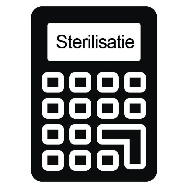 Infrarood sterilisatie
